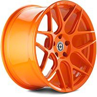 HRE Flowform FF01 Race Orange Wheel - 20x9.5 (05-14 All) - HRE 01H009535033-RACE ORANGE