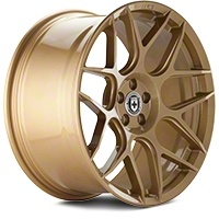 HRE Flowform FF01 Gold Rush Wheel - 20x10.5 (05-14 All) - HRE 01M010545033-GOLD RUSH