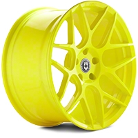 HRE Flowform FF01 Hyper Yellow Wheel - 20x10.5 (05-14 All) - HRE 01M010545033-HYPER YELLOW