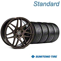Forgestar F14 Bronze Burst Wheel & Sumitomo Tire Kit - 19x9 (05-14 All) - Forgestar KIT|29868|63036