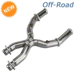 Kooks Off-Road X-Pipe - 3 in (96-98 4.6L for Long Tube Headers) - Kooks 6015-9698