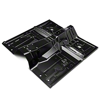 Full One-Piece Floor Pan - Manual Trans (79-93 Coupe/Hatch) - AM Restoration 3648XA
