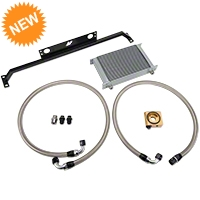Mishimoto Direct Fit Oil Cooler - Silver (11-14 GT) - Mishimoto MMOC-MUS-11T
