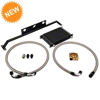 Mishimoto Direct Fit Oil Cooler - Black (11-14 GT) - Mishimoto MMOC-MUS-11TB