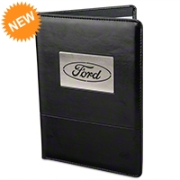 Ford Oval Padfolio - Ford PFO001