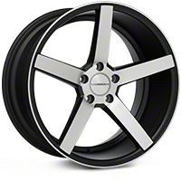 Vossen CV3 Machined Matte Black Wheel - 19x10 (05-14 All) - Vossen CV3-9N50