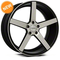 Vossen CV3 Machined Matte Black Wheel - 20x9 (05-14 All) - Vossen CV3-0N05