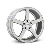 Vossen CV3 Machined Matte Silver Wheel - 19x8.5 (2015 All) - Vossen 102160G15