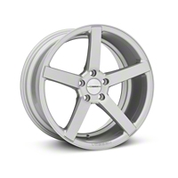 Vossen CV3 Machined Matte Silver Wheel - 19x10 (2015 All) - Vossen 102161G15