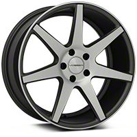 Vossen CV7 Machined Matte Graphite Wheel - 19x8.5 (05-14 All) - Vossen CV7-9N44