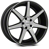 Vossen CV7 Machined Matte Graphite Wheel - 20x9 (05-14 All) - Vossen CV7-0N05