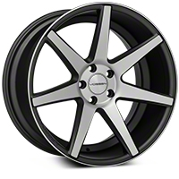 Vossen CV7 Machined Matte Graphite Wheel - 20x10.5 (05-14 All) - Vossen CV7-0N11
