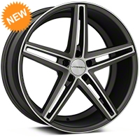 Vossen CV5 Machined Matte Graphite Wheel - 20x9 (05-14 All) - Vossen CV5-0N05