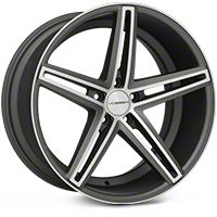 Vossen CV5 Machined Matte Graphite Wheel - 20x10.5 (05-14 All) - Vossen CV5-0N11