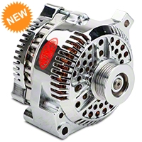 Powermaster Alternator - 130 Amp Chrome (94-95 GT; 94-00 V6) - Powermaster 17771