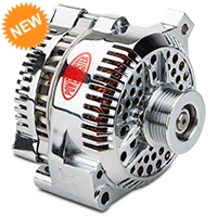 Powermaster Alternator - 200 Amp Chrome (94-95 GT; 94-00 V6) - Powermaster 37771