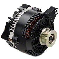 Powermaster Alternator - 200 Amp Black (96-98 GT) - Powermaster 57764