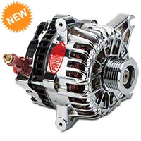 Powermaster Alternator - 110 Amp Chrome (99-04 GT) - Powermaster 18252