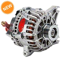 Powermaster Alternator - 110 Amp Polished (99-04 GT) - Powermaster 28252