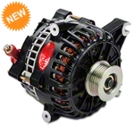 Powermaster Alternator - 200 Amp Black (99-04 GT) - Powermaster 57795