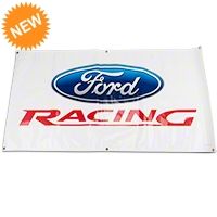 Ford Racing Garage Banner - Ford Racing M-1827-A1