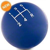 Modern Billet Retro Style 5-Speed Shift Knob - Blue (79-04 All) - Modern Billet 102253