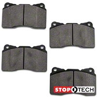 StopTech Street Performance Brake Pads - Front (07-12 GT500; 12-13 Boss 302; 11-14 GT Brembo) - StopTech 309.1001