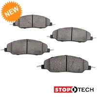 StopTech Street Performance Brake Pads - Front (05-10 GT, V6) - StopTech 309.1081