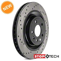 StopTech Sport Cross-Drilled Rotors - Front Pair (11-14 GT) - StopTech 102312