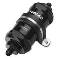 Fuelab In-Line Fuel Filter - 6 micron fiberglass / 6AN (79-14 All) - Fuelab 81831-1