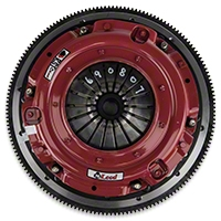 McLeod RST Twin Disc 800HP Clutch w/ Flywheel - 26 Spline - 8 Bolt (07-09 GT500) - McLeod 6908-07