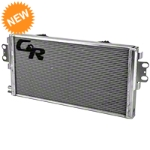 C&R Racing Heavy Duty Dual Pass Heat Exchanger w/ Dual Fans (07-14 GT500) - C&R Racing 56-00001