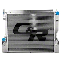 C&R Racing High Capacity Performance Radiator (11-14 GT, BOSS) - C&R Racing 20-01053