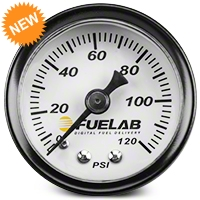 Fuelab Fuel Pressure Gauge - 1.5 in. (86-14 All) - Fuelab 71501