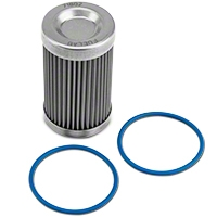 Fuelab Fuel Filter Replacement Element - 40 Stainless Steel (86-14 All) - Fuelab 71802