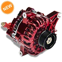 PA Performance Alternator - 130 Amp - Red (99-04 GT) - PA Performance 2264CR