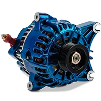PA Performance Alternator - 130 Amp - Blue (99-04 GT) - PA Performance 2264CB