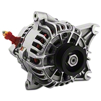 PA Performance Alternator - 130 Amp - Polished (99-04 GT) - PA Performance 2264POL