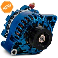PA Performance Alternator - 130 Amp - Blue (01-04 V6) - PA Performance 2503CB