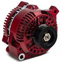 PA Performance Alternator - 130 Amp - Red (94-95 GT; 94-00 V6) - PA Performance 1704CR