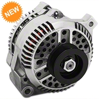 PA Performance Alternator - 130 Amp - Polished (94-95 GT; 94-00 V6) - PA Performance 1704POL