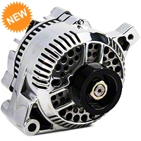 PA Performance Alternator - 95 Amp - Polished (87-93 5.0L) - PA Performance 1614POL
