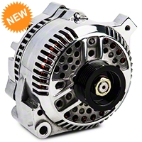 PA Performance Alternator - 130 Amp - Polished (87-93 5.0L) - PA Performance 1619POL