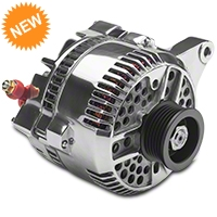 PA Performance Alternator - 130 Amp - Polished (96-98 GT) - PA Performance 1989POL