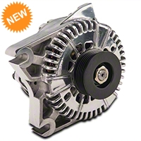 PA Performance Alternator - 130 Amp - Polished (96-01 Cobra, 03-04 Mach 1, 01 Bullitt) - PA Performance 1988POL