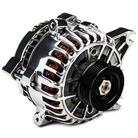 PA Performance Alternator - 130 Amp - Polished (05-08 GT) - PA Performance 2158WPOL