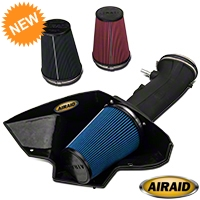 Airaid Cold Air Intake - SynthaMax Dry Filter (07-09 GT500) - Airaid 453-211||452-211||451-211