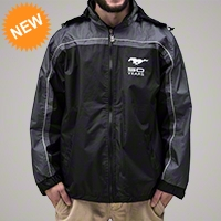 Ford Mustang 50th Anniversary Windbreaker - Ford 22954-Small||22954-Medium||22954-Large||22954-XL||22954-XXL