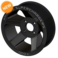 Whipple Black 10-Rib Pulley (07-14 GT500) - Whipple WHP-SCP-SGT500