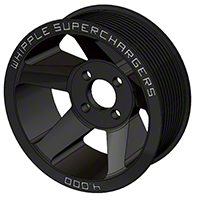Whipple Supercharger 8-Rib Pulley - Black (03-04 Cobra) - Whipple WHP-SCP-0304COB